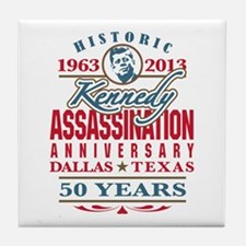 Kennedy Assassination Anniversary 2013 Tile Coaste