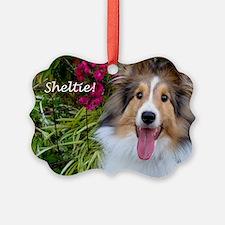 Sheltie! Ornament