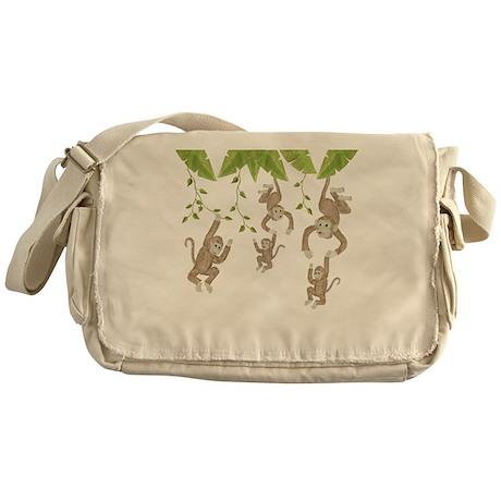 Monkey Messenger Bag