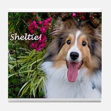 Sheltie! Tile Coaster