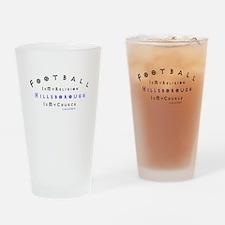 wednesday Drinking Glass