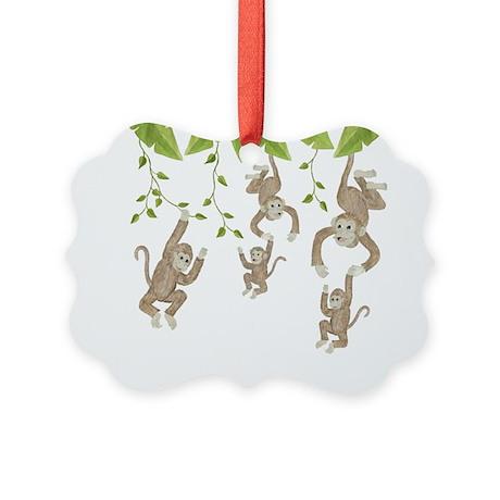 Monkey Picture Ornament