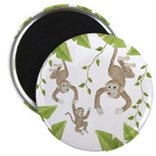 "Monkey 2.25"" Magnet (10 pack)"