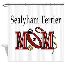 Sealyham Terrier Mom Shower Curtain