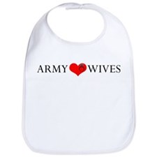 Army Wives Heart and Ring Bib