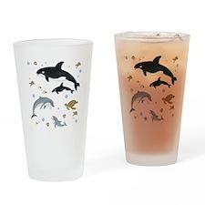 Ocean Animal Drinking Glass