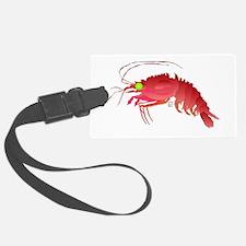 Deep Sea Red Shrimp Luggage Tag