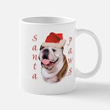 Santa Paws Bulldog Mug