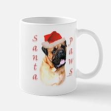 Santa Paws Bullmastiff Mug