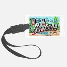 Baraboo Wisconsin Greetings Luggage Tag