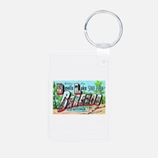 Baraboo Wisconsin Greetings Keychains