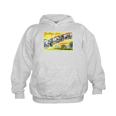 Bainbridge Georgia Greetings Kids Hoodie