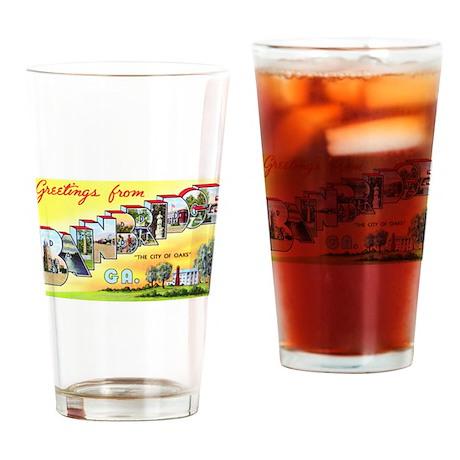 Bainbridge Georgia Greetings Drinking Glass