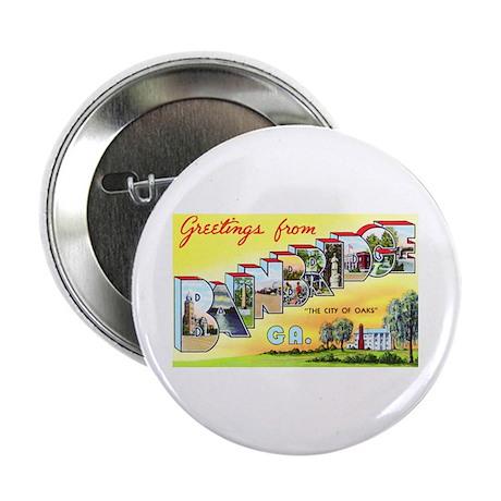 "Bainbridge Georgia Greetings 2.25"" Button (100 pac"