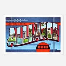 Alliance Ohio Greetings Postcards (Package of 8)