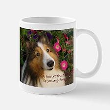 A heart that loves Mug