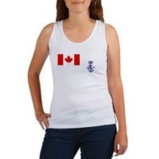 Naval Jack of Canada Women's Tank Top