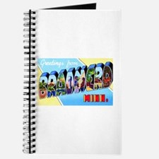 Brainerd Minnesota Greetings Journal