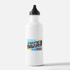 Brainerd Minnesota Greetings Water Bottle