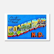 Bismarck North Dakota Greetings Car Magnet 20 x 12