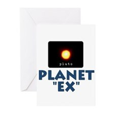 Pluto Planet Ex Greeting Cards (Pk of 10)