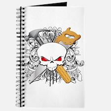 Handyman Skull Journal
