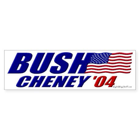 Bush-Cheney 04 Bumper Sticker