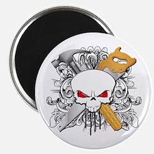 Handyman Skull Magnet
