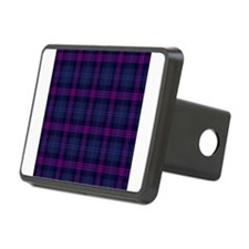 purple tartan Hitch Cover