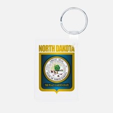 North Dakota Seal (B) Keychains
