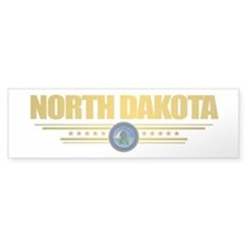 North Dakota Seal (B) Bumper Sticker