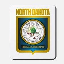 North Dakota Seal (B) Mousepad