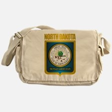 North Dakota Seal (B) Messenger Bag