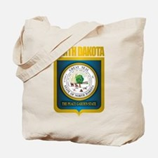 North Dakota Seal (B) Tote Bag