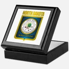 North Dakota Seal (B) Keepsake Box