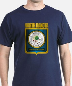 North Dakota Seal (B) T-Shirt