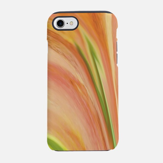 Orange Wave Abstract iPhone 7 Tough Case