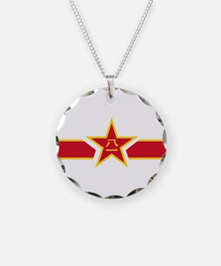 PLA Air Force Roundel Necklace Circle Charm