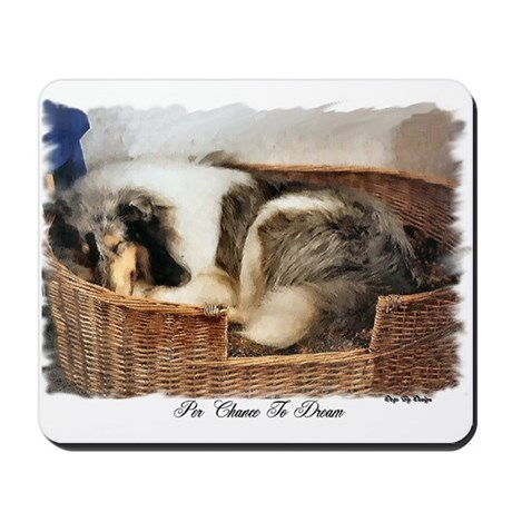Collie Gifts of Art Mousepad