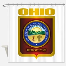 Ohio State Seal (B) Shower Curtain