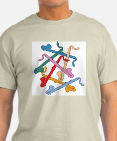 Colorful Bass Clarinets T-Shirt