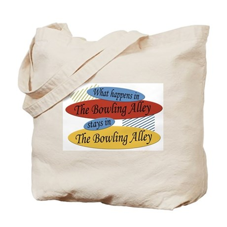 Happens At The Bowling Alley Tote Bag