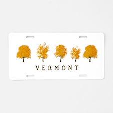 Autumn Trees - Vermont Aluminum License Plate