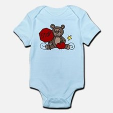 Crossing Guard Bear Infant Bodysuit