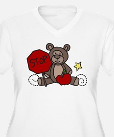 Crossing Guard Bear T-Shirt