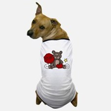Crossing Guard Bear Dog T-Shirt