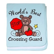 Crossing Guard baby blanket