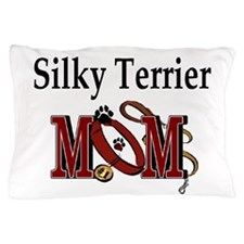 Silky Terrier Mom Pillow Case