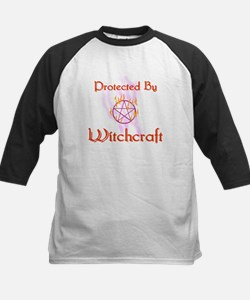 Protected By Witchcraft Kids Baseball Jersey