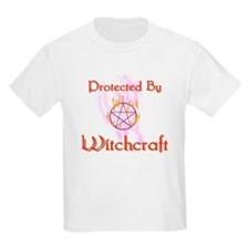 Protected By Witchcraft Kids T-Shirt